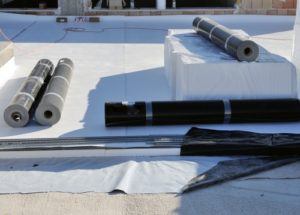 Dachterrasse Belag und Abdichtung